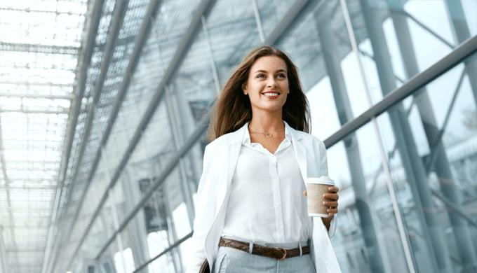 女性転職生き生き